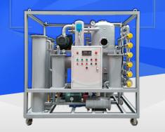 陕西某工贸公司订购ZJA-100电力双级真空滤油机