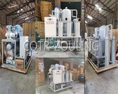 武汉十五冶金通物资公司订购ZYD-JK-200双级真空滤油机
