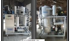 恭喜重庆通瑞的又一台ZJA双级真空滤油机应用于风电项目