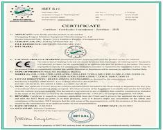 通瑞CE证书