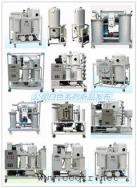 重庆通瑞白色系列多款滤油机产品展示