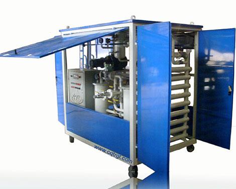 ZJA封闭式双级真空滤油机