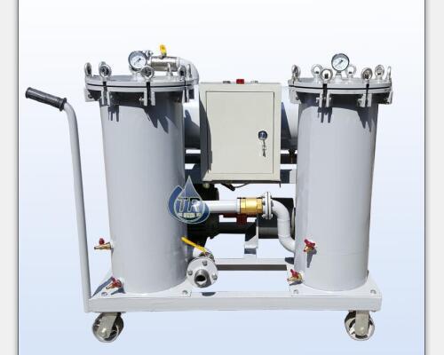 YL-B-200手推式三级精密润滑油过滤机(加油抽滤机)